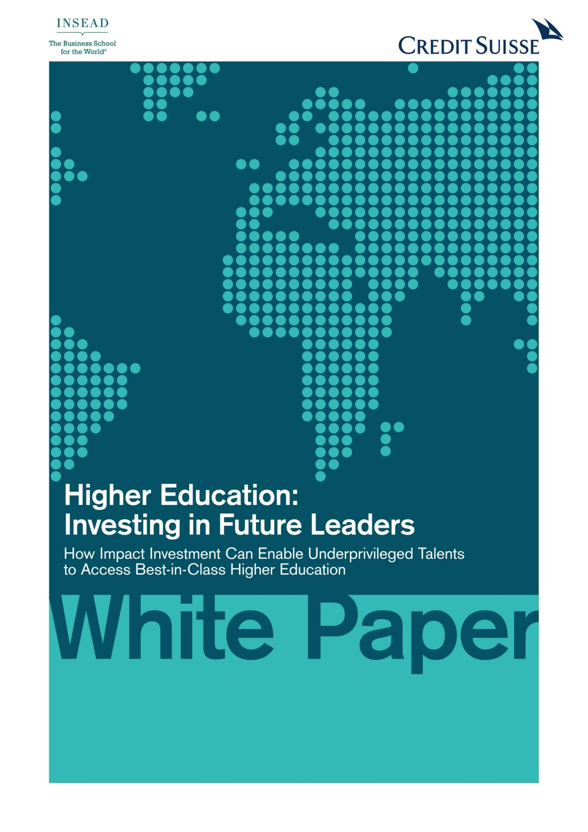 White Paper Credit Suisse Higher Education